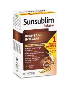 Nutreov Sunsublim Bronzage Intégral 60 Capsules + 1 Mois Offert