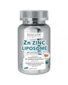 Biocyte Longevity Zn Zinc Liposomal 60 Gélules