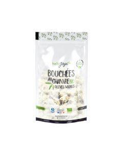 Hello Joya Miam Bouchées Au Chanvre Bio Aux Olives Noires 50 g