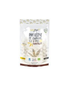 Hello Joya Boost Protéine Bio De Chanvre Riz & Pois Au Chocolat 400 g