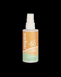 Respire Spray Solaire SPF50 Naturel & Minéral 120ml