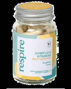 Respire Complexe Vitaminé Réduit la Fatigue 30 gélules