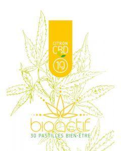 Bioactif Pastilles Bien-Être Bio Citron Vitamine C CBD 10mg x 30