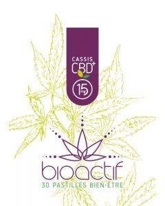 Bioactif Pastilles Bien-Être Bio Cassis CBD 15mg x 30