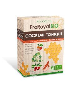 Phytoceutic Proroyal Bio Cocktail Tonique 20 Ampoules 10ml
