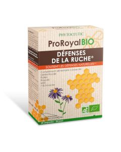 Phytoceutic Proroyal Bio Défenses de la Ruche 20 Ampoules 10ml