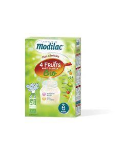 Modilac Céréales Bio 4 Fruits et Quinoa 230g