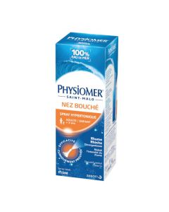 Sanofi Physiomer Nez Bouché Spray Hypertonique 135ml