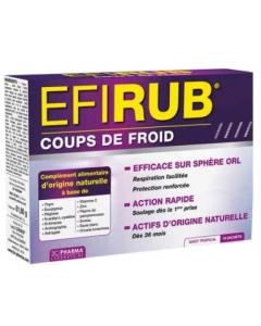 3C Pharma Efirub Coups de Froid 16 Sachets