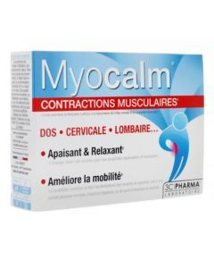 Myocalm 3C Pharma Contractions Musculaires 30 Comprimés