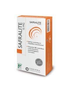 Codifra Safralite 15 Mg 28 Gélules