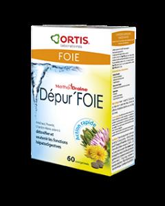 Ortis Methoddraine Dépur Foie 60 Comprimes