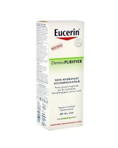 Eucerin Dermopurifyer Soin Hydratant Accompagnateur 50ml