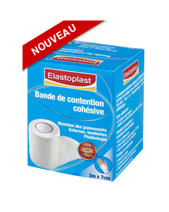 Elastoplast Bande Cohésive Blanc 3M X 7cm