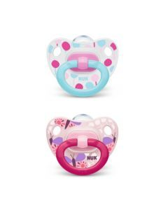 Nuk 2 Sucettes Taille 3 CLASSIC Fille
