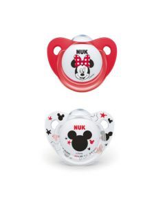 Nuk 2 Sucettes Taille 2 Mickey