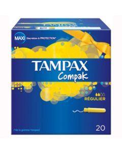 Tampax Compak Régulier 20 Tampons