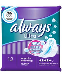 Always Ultra Long Plus 12 Serviettes