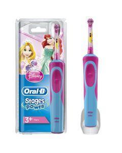 Oral-B Stages Power Brosse À Dents Électrique Rechargeable Pour Enfants Avec Princesses De Disney 1 Manche 1 Brossette