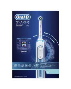 Oral-B Smart 6 6000N, Brosse À Dents Électrique Par Braun
