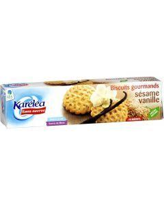 Karelea Biscuit Sésame Vanille Sans Sucre 132g