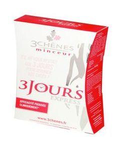 3 Chênes 3 Jours Detox Minceur Express 18 Comprimés