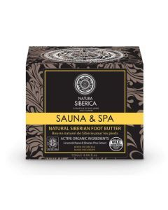 Natura Siberica Sauna & Spa Beurre Naturel de Siberie Pour Les Pieds 120ml