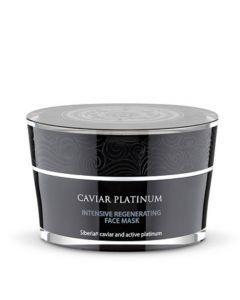 Natura Siberica Caviar Platinum Masque au Collagène Visage et Cou Régénération et Nutrition 50ml