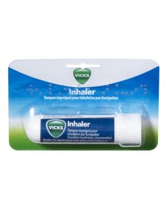 Vicks Inhaler Tampon Imprégné Pour Inhalation Par Fumigation