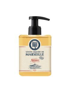Authentine Savon Liquide De Marseille Agrumes Bio 500 Ml