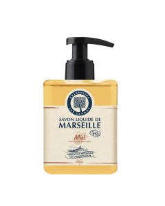 Authentine Savon Liquide De Marseille Miel Bio 500 Ml
