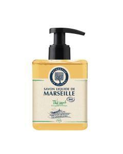 Authentine Savon Liquide De Marseille Thé Vert Bio 500 Ml