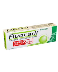 Fluocaril Complet Dentifrice Duo 75ml