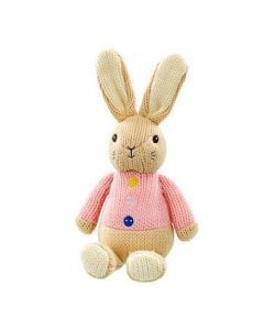 Petit Pouce Factory Peluche crochet Flopsaut 26cm Pierre Lapin Original