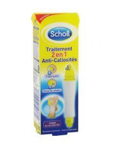 Scholl Traitement 2 en 1 Anti Callosités 9ml