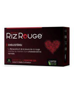 Santé Verte Levure Riz Rouge 30 Comprimés