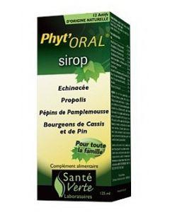 Santé Verte phyt'Orl Sirop 125ml