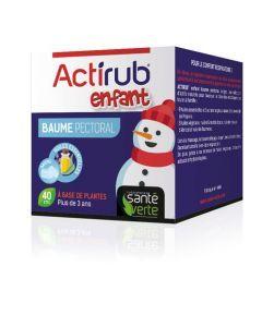 Santé Verte Actirub Enfant Baume Pectoral 40 ml