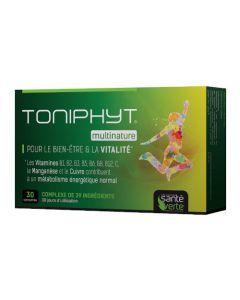Santé Verte Toniphyt Multinature 30 Comprimés