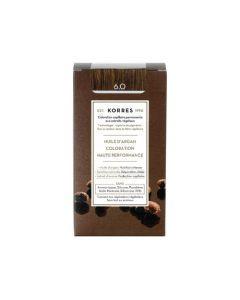 Korres Coloration permanente huile d'argan, blond foncé 6.0 50ML