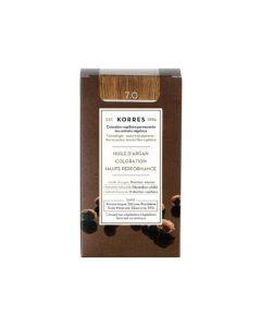 Korres Coloration permanente huile d'argan, blond 7.0 50ML