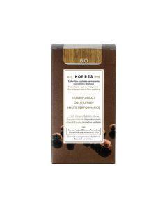 Korres Coloration permanente huile d'argan, blond clair 8.0 50ML