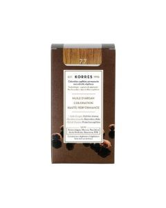 Korres Coloration permanente huile d'argan, blond marron 7.7 50ML