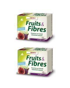 Ortis Fruits et Fibres Duo 24 Cubes