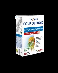 Ortis Propex Coup de Froid 45 Comprimés