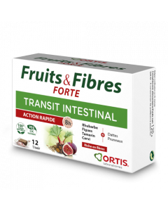 Ortis Transit Intestinal Fruits & Fibres Forte 12 Cubes