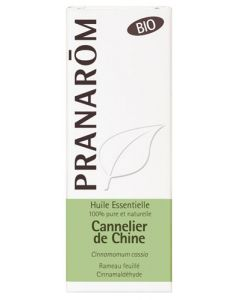 Pranarôm Bio Huile Essentielle Cannelier de Chine 10ml
