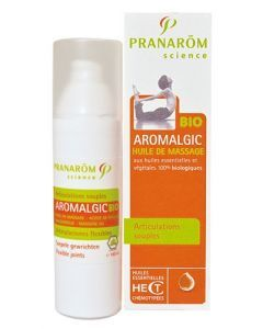 Aromalgic Bio Huile de Massage Articulations 100ml