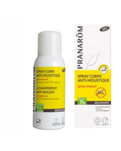 Pranarôm Aromapic Spray Corps Anti-Moustique Bio 75ml