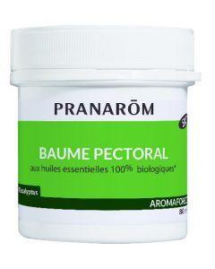 Pranarôm Aromaforce Baume Pectoral Bio 80ml